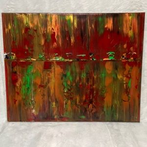 Holly Original Painting by J M Post 16 x 20 Canvas